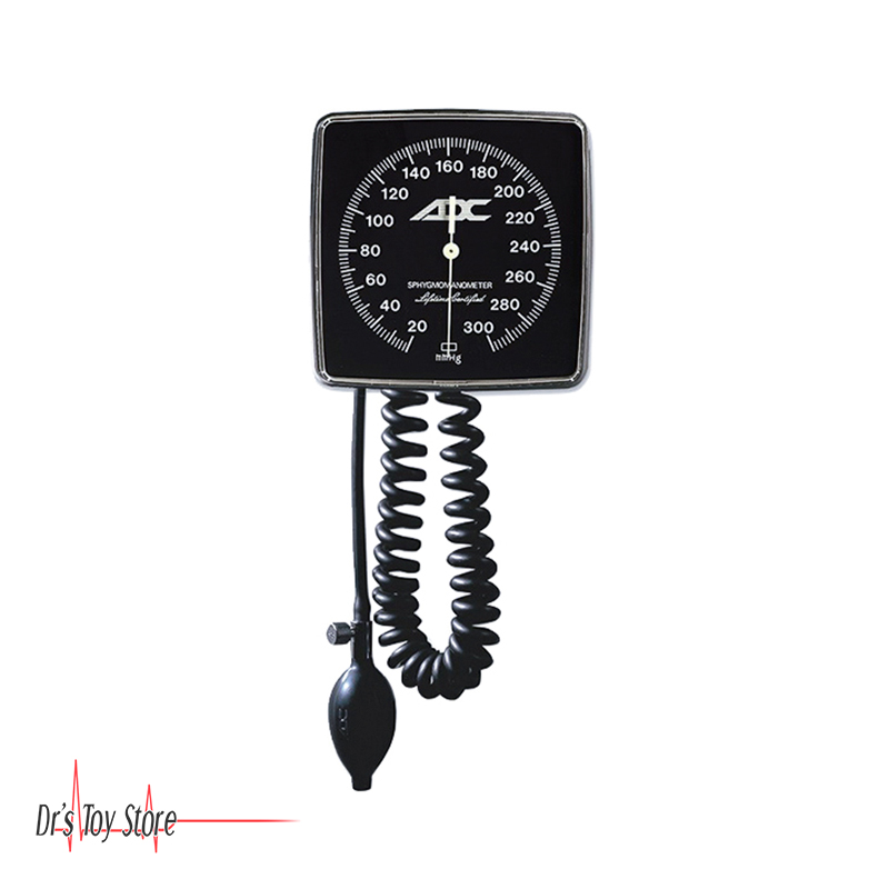Adc Diagnostix Clock Face Aneroid Wall Mount For Sale