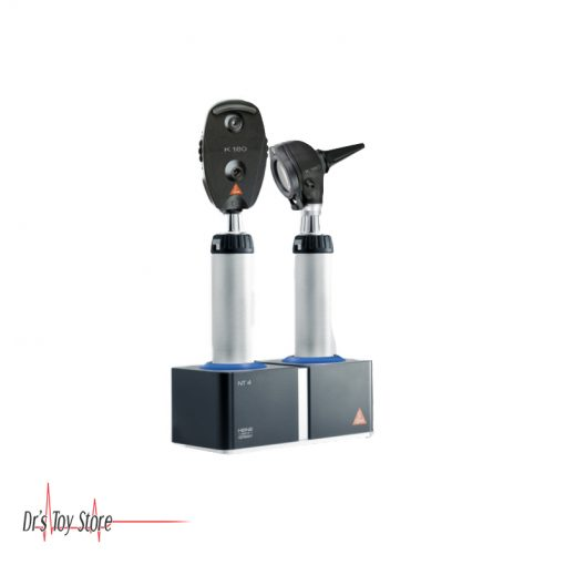 K180 Otoscope Ophthalmoscope with 3.5V NT 300 Desk Charging System