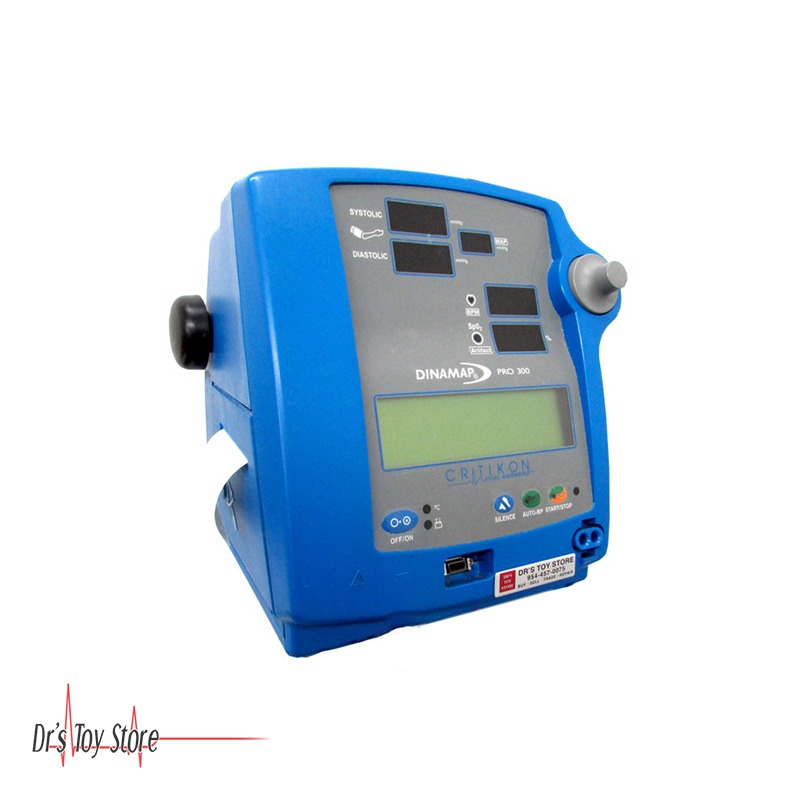 GE Dinamap Pro 300 Patient Monitor – NIBP SPo2   Dr's Toy Store on