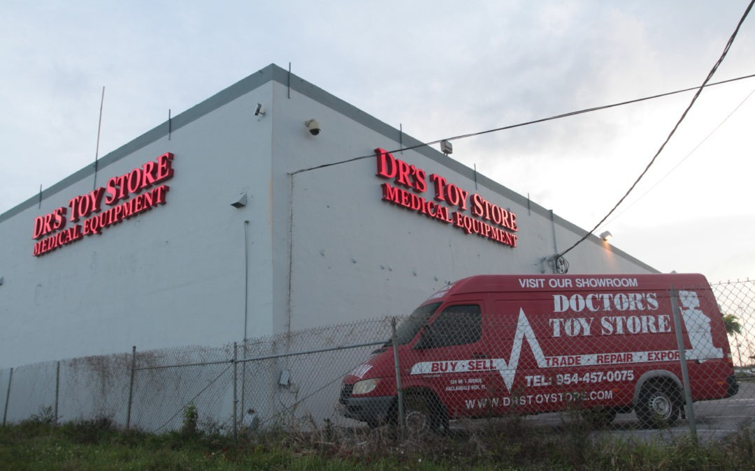 Dr's Toy Store Opens New Showroom Off I-95