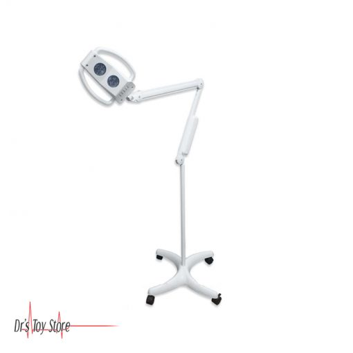 DTS-2-Pod-LED-Exam-Light,-Floor-Stand