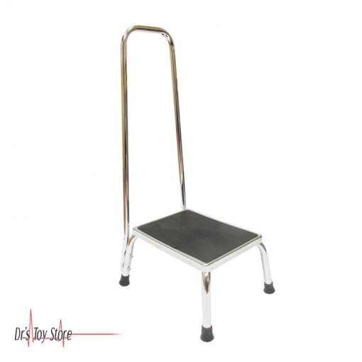 DTS Steel Step Stool with Handrail
