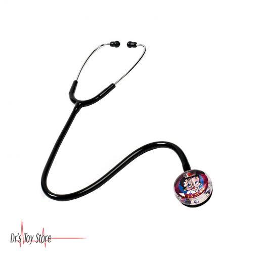 Clear Sound Betty Boop Nurse Stethoscope