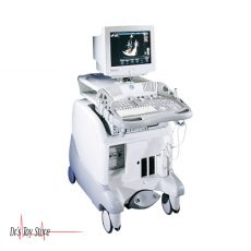 GE Vivid 3 Pro Ultrasound With Cardiac and Vascular Transducer