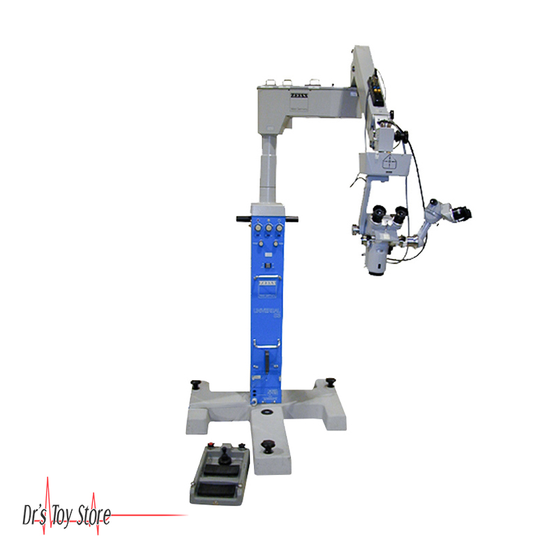 Zeiss OPMI 6-S Surgical Microscope on Stativ S3 Universal Stand w/  Footswitch