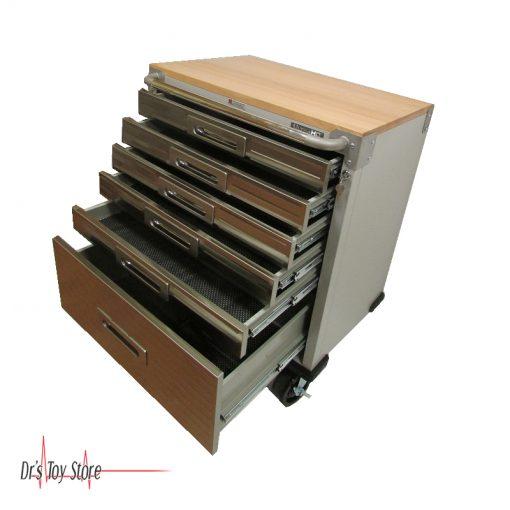 DTS-Crash-Cart,-6-Drawer-Rolling-Cabinet