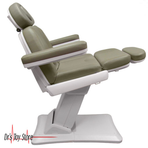 power chair, exam table, exam chair