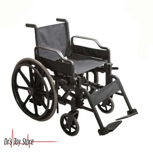 MRI Wheelchair, heavy duty molded plastic chair
