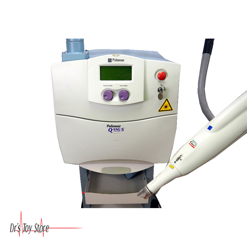 Palomar Q-YAG 5 Laser Tattoo Removal Machine for Sale | Dr\'s Toy Store