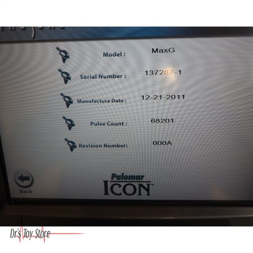 Cynosure-Palomar-Icon-Laser-MaxG-SC