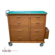 Medical Crash Cart Cabinet Set